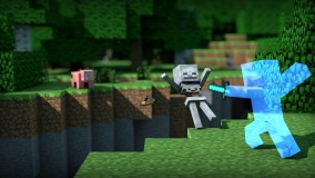 Classic Skeleton Minecraft Wallpaper